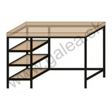 Pracovný stôl K20/S3/120