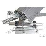 Nábytkové rolety Metallic line - set