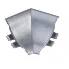 Roh vnútorný L15/C/r/st - matná strieborná