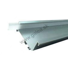 S056/LED - 4,1 bm - úchytový profil LED  pod pracovnú dosku